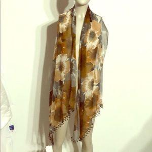 Sheer scarf - Box A23
